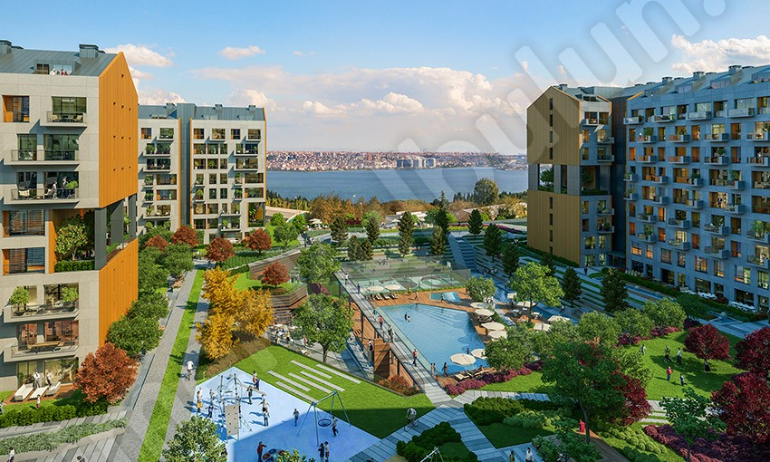SEA VIEW NEAR THE NEW CANAL OF ISTANBUL - RG-159